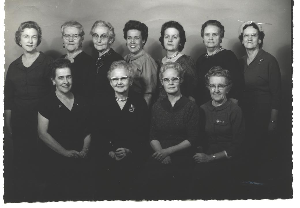 Members of the Rexburg Civic Club, circa 1950