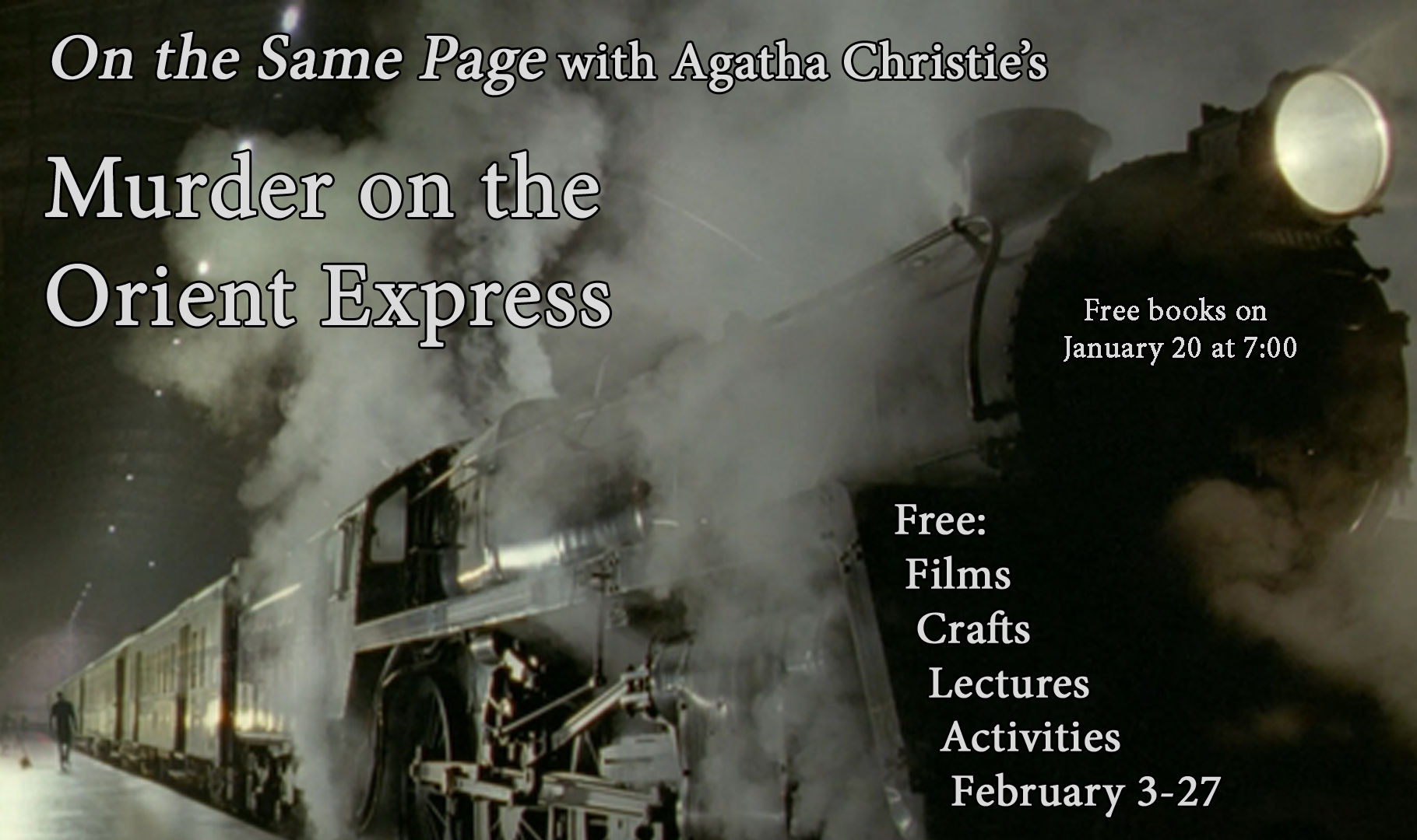 """Murder on the Orient Express"" by Agatha Christie"