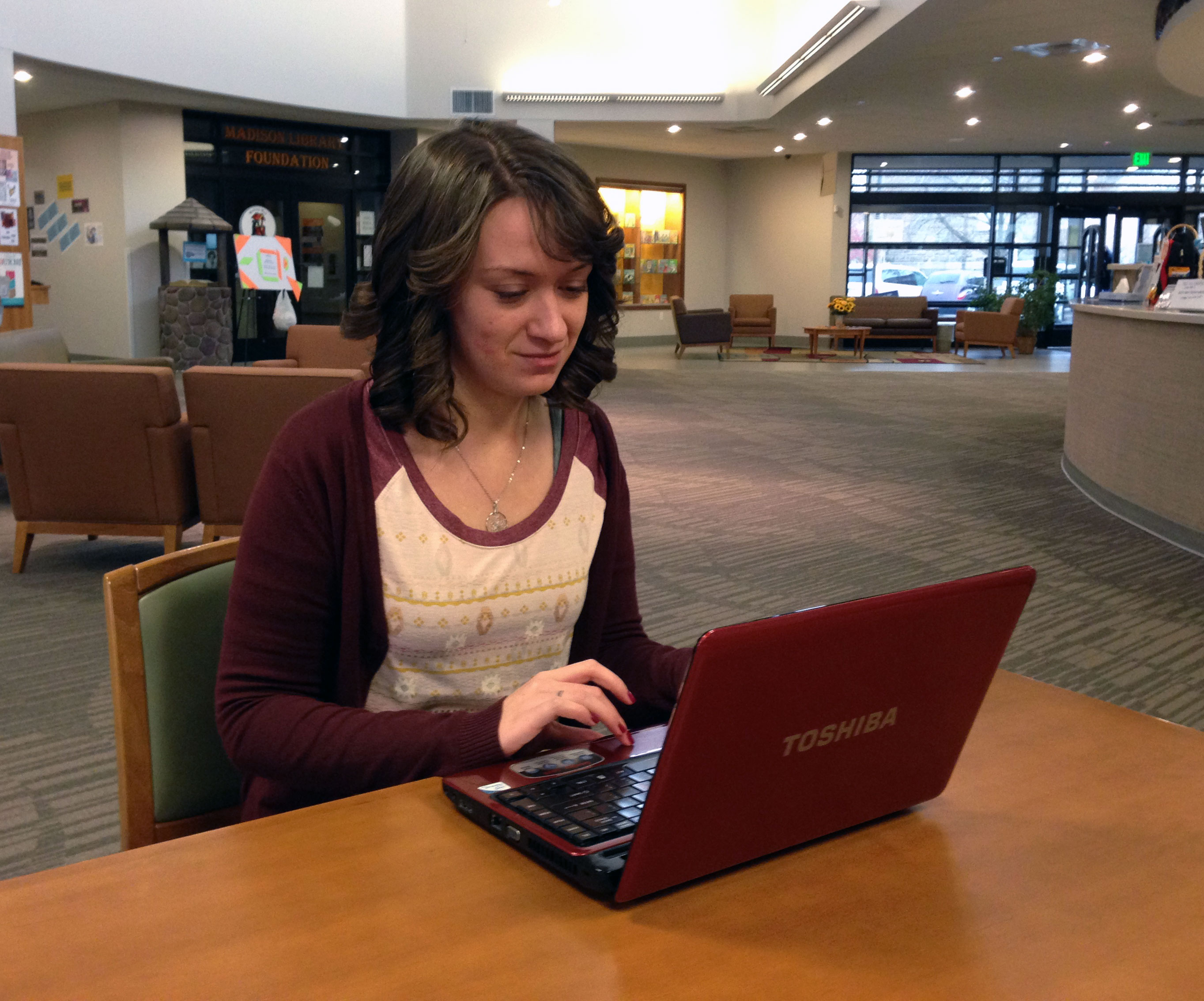 Free Wi-Fi at the Madison Library District