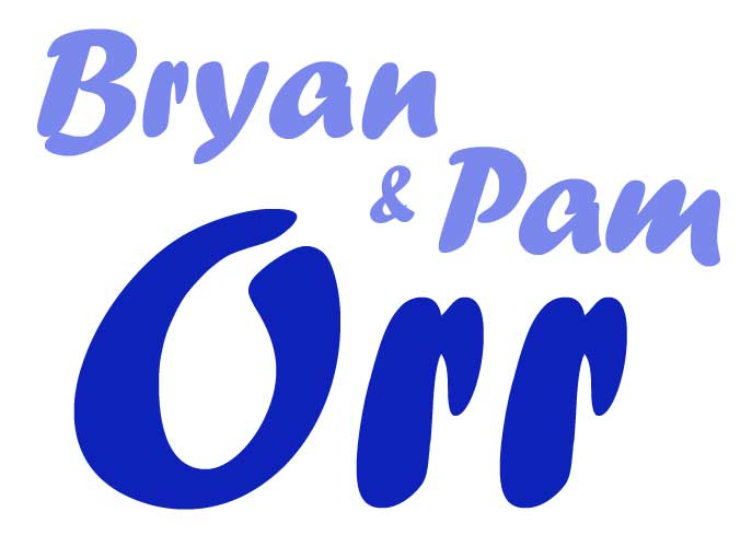 Bryan and Pam Orr