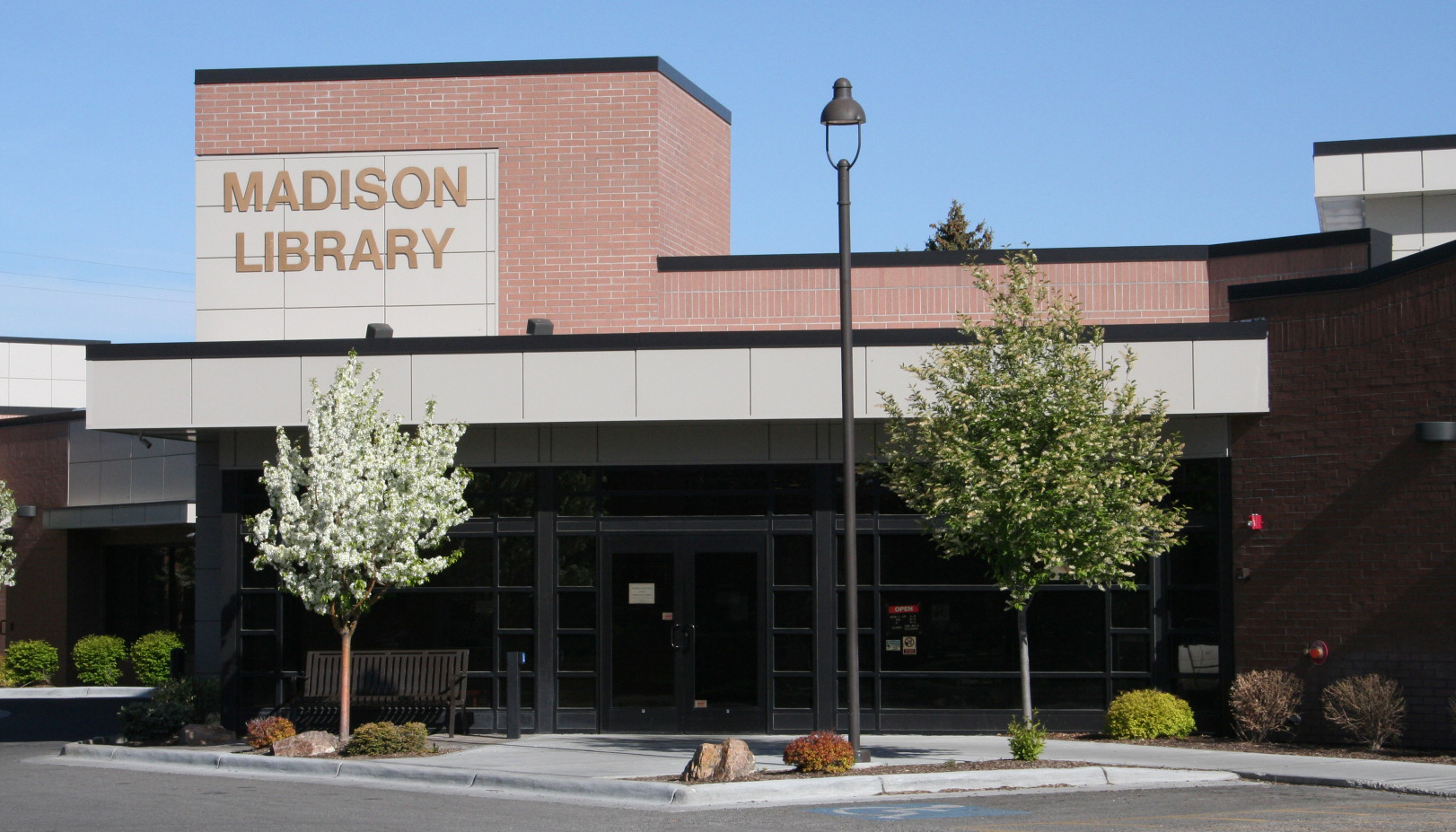 The Madison Library District Building