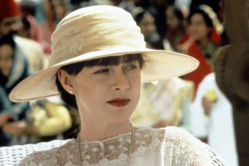 Miss Adela Quested (Judy Davis) from A Passage to India