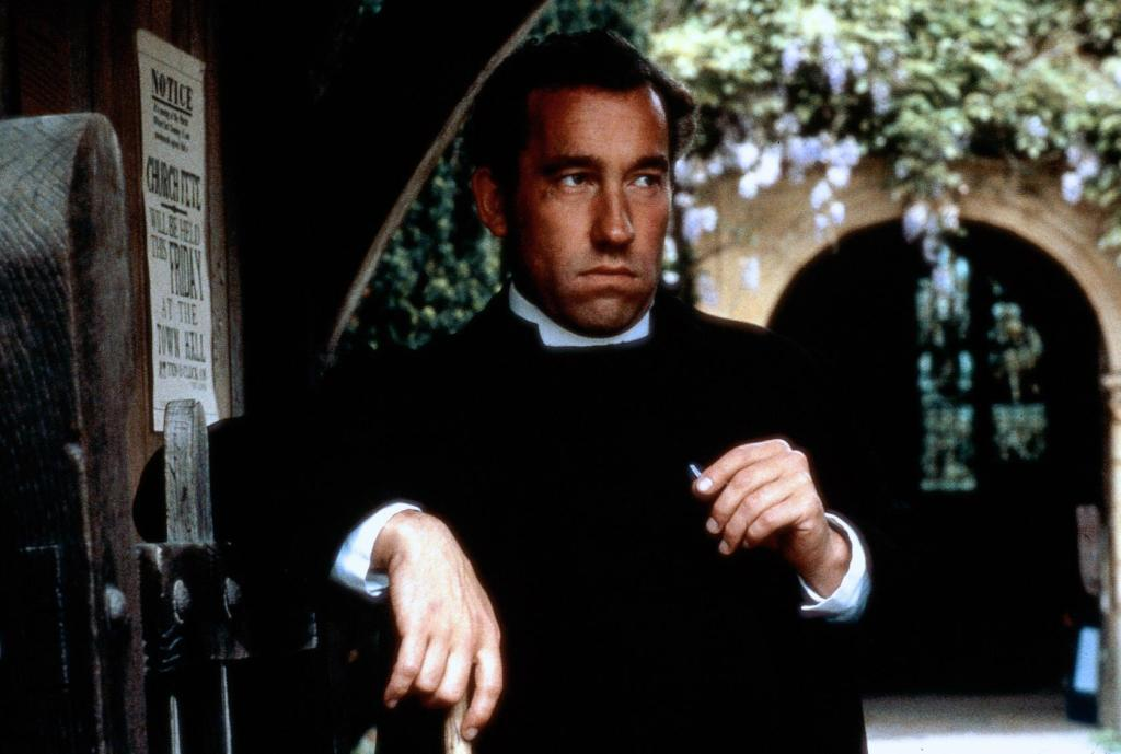 Simon Callow as The Reverend Mr Beebe