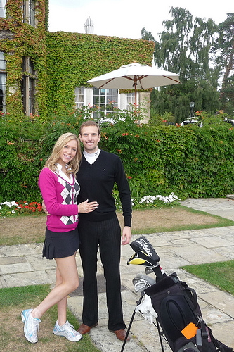 A Young Couple from Surrey, England