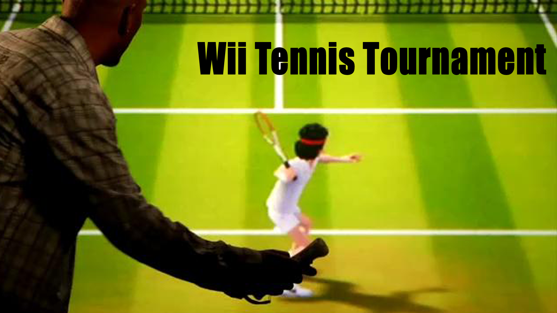 On the Same Page Wii Tennis Tournament