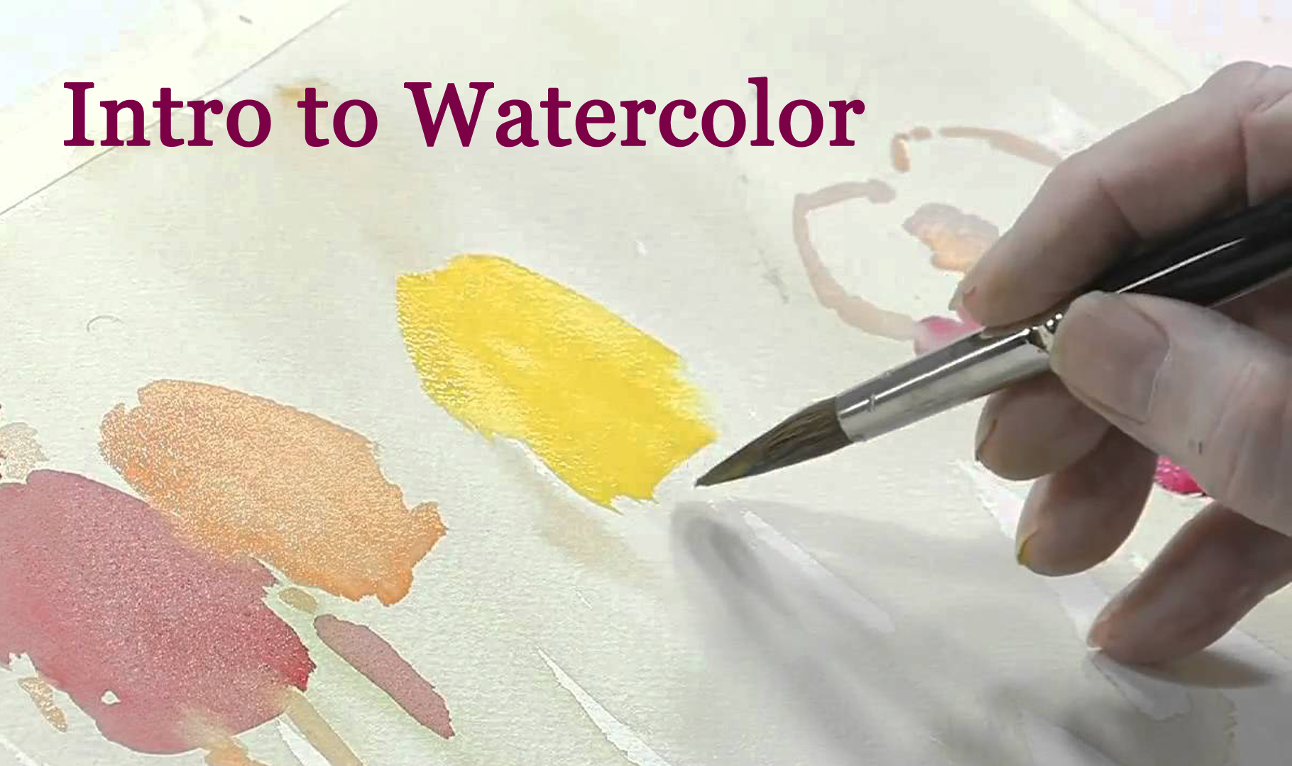 On the Same Page Introduction to Watercolor