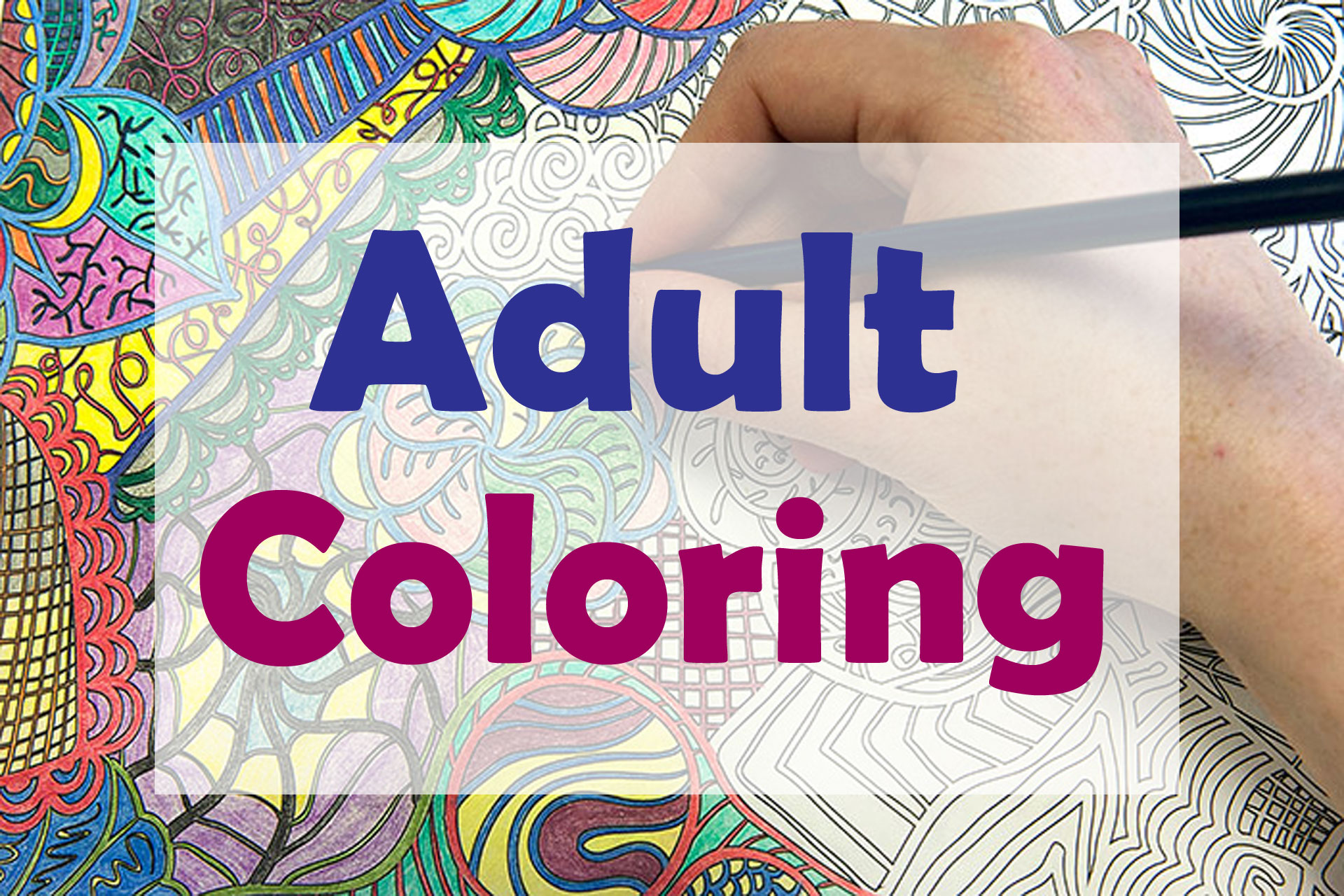 Adult Coloring