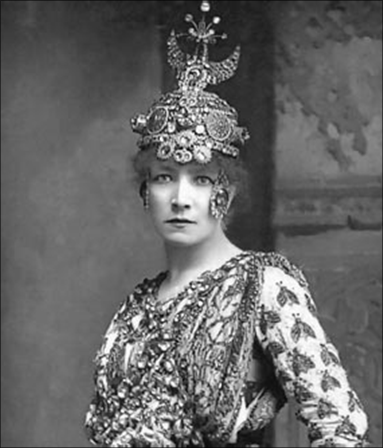 Sarah Bernhardt as Theodora, 1893