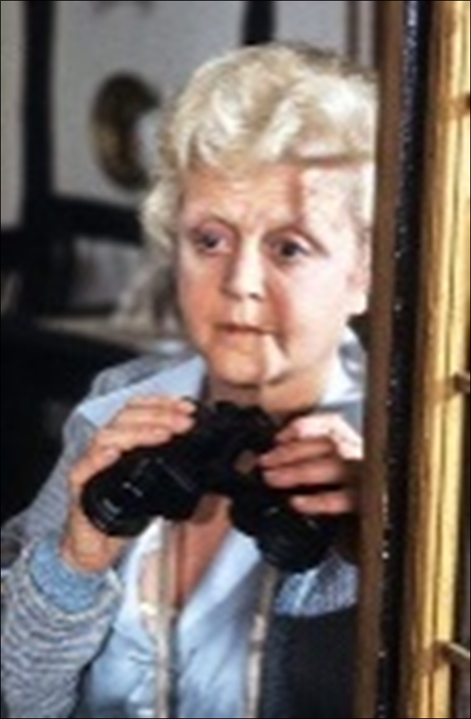 Angela Lansbury as Miss Marple