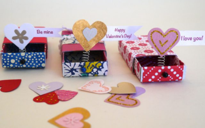 Teen Crafts for February!