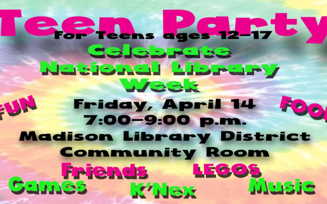 Teen Party on Friday!
