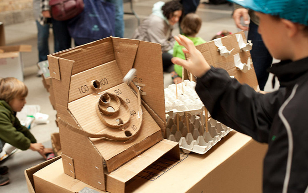 Imagination's Day of Play Cardboard Challenge!
