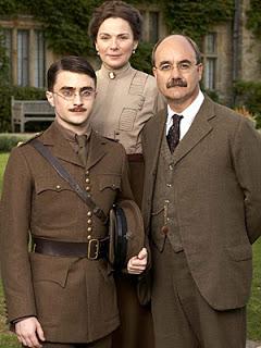 Cast of My Boy Jack (Daniel Radcliffe, Kim Cattrall & David Haig)