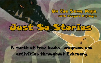 On the Same Page: Just So Stories Book Release