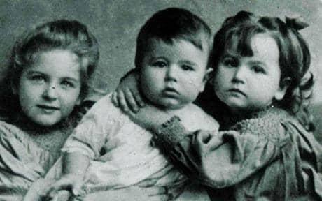 Josephine, Jack, and Elsie Kipling