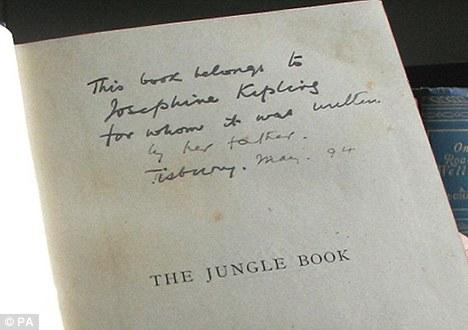 Kipling's Inscription to Josephine