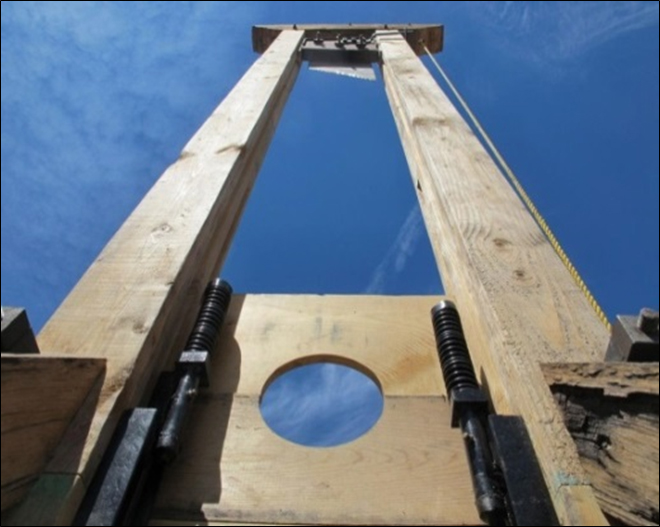 A Prisoner's View of the Guillotine