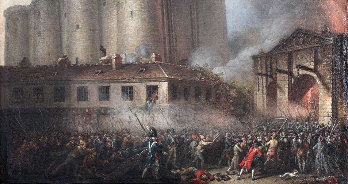 The Bastille Fortress During the Revolution