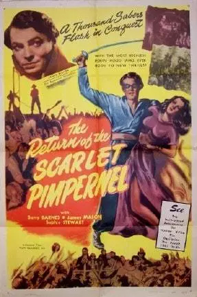 The Return of the Scarlet Pimpernel (1937) Movie Poster