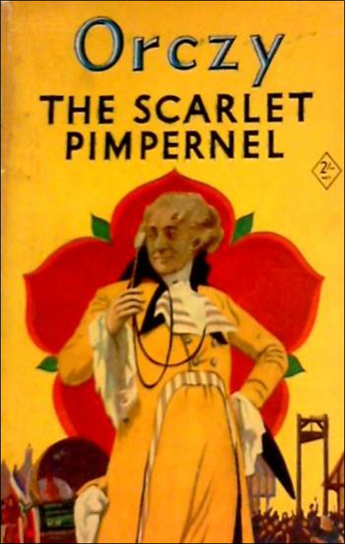 The Scarlet Pimpernel Book Cover From 1951