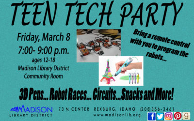 March Teen Crafts and Events