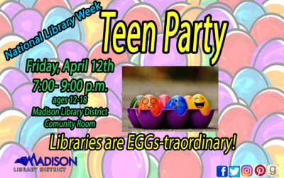 Teen Party April 12th
