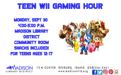 Teen Wii Gaming Hour