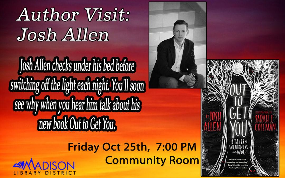 Author Visit: Josh Allen