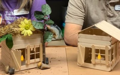 Teen Summer Crafts – Fairy House