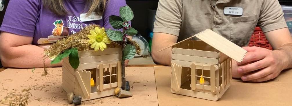 Teen Summer Crafts – Fairy House