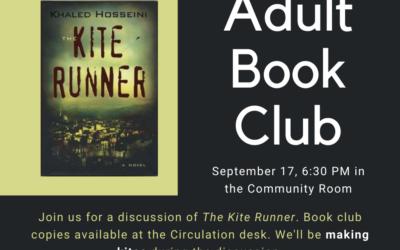 September Adult Book Club