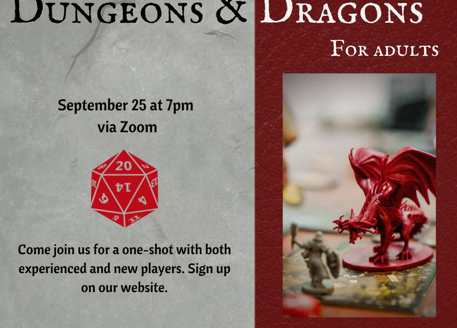Adult Dungeons and Dragons