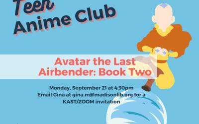 September Teen Anime Club