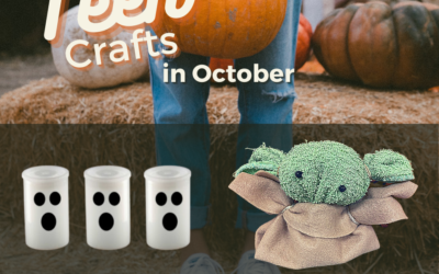 Upcoming October Teen Crafts: Ghost Rockets and Baby Yoda
