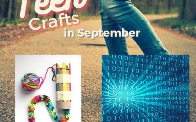 Upcoming September Teen Crafts