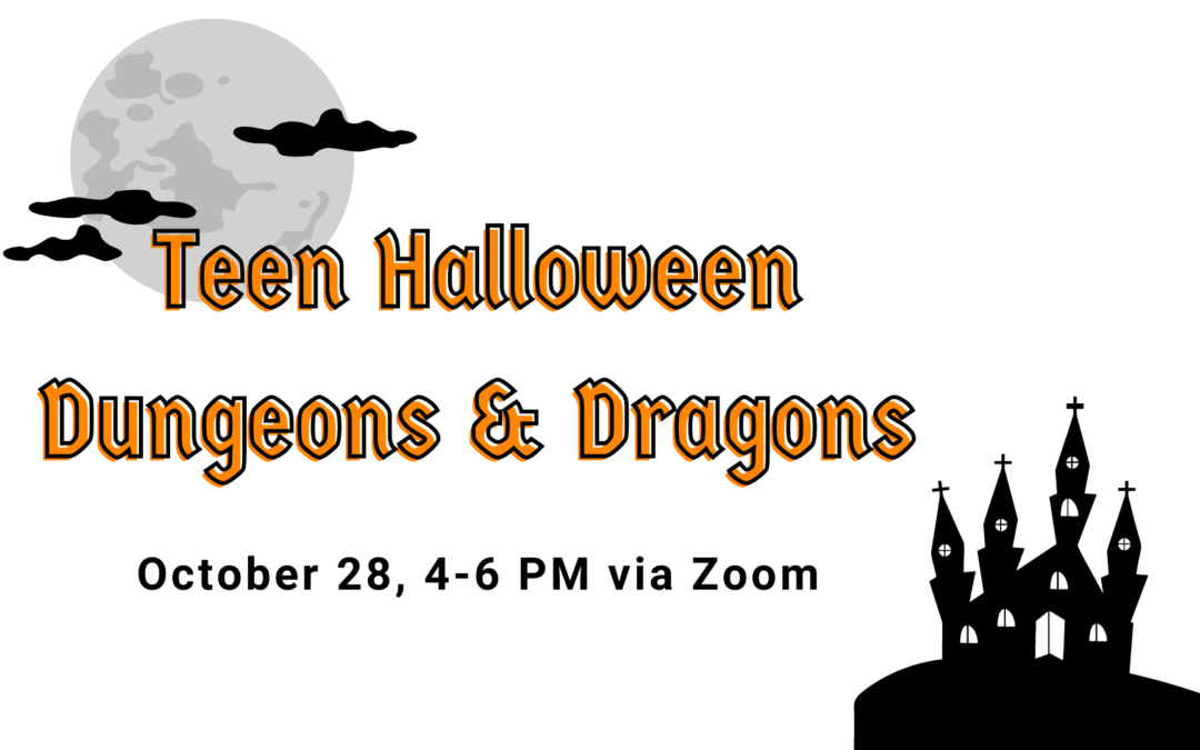 Teen Halloween Dungeons and Dragons