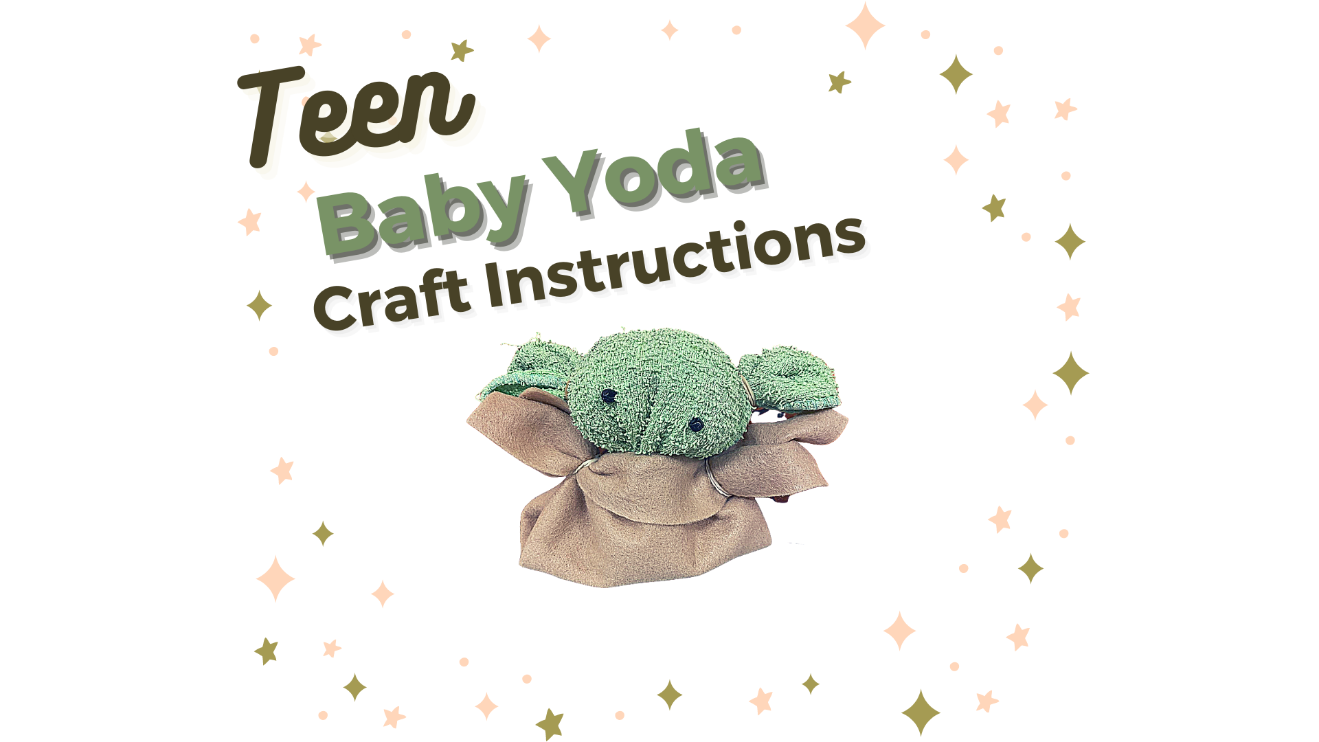 Teen Baby Yoda Craft