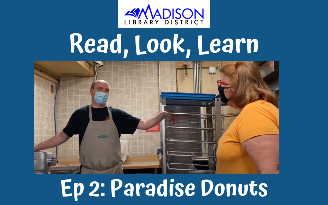 Read, Look, Learn Episode 2: Halloween with Paradise Donuts