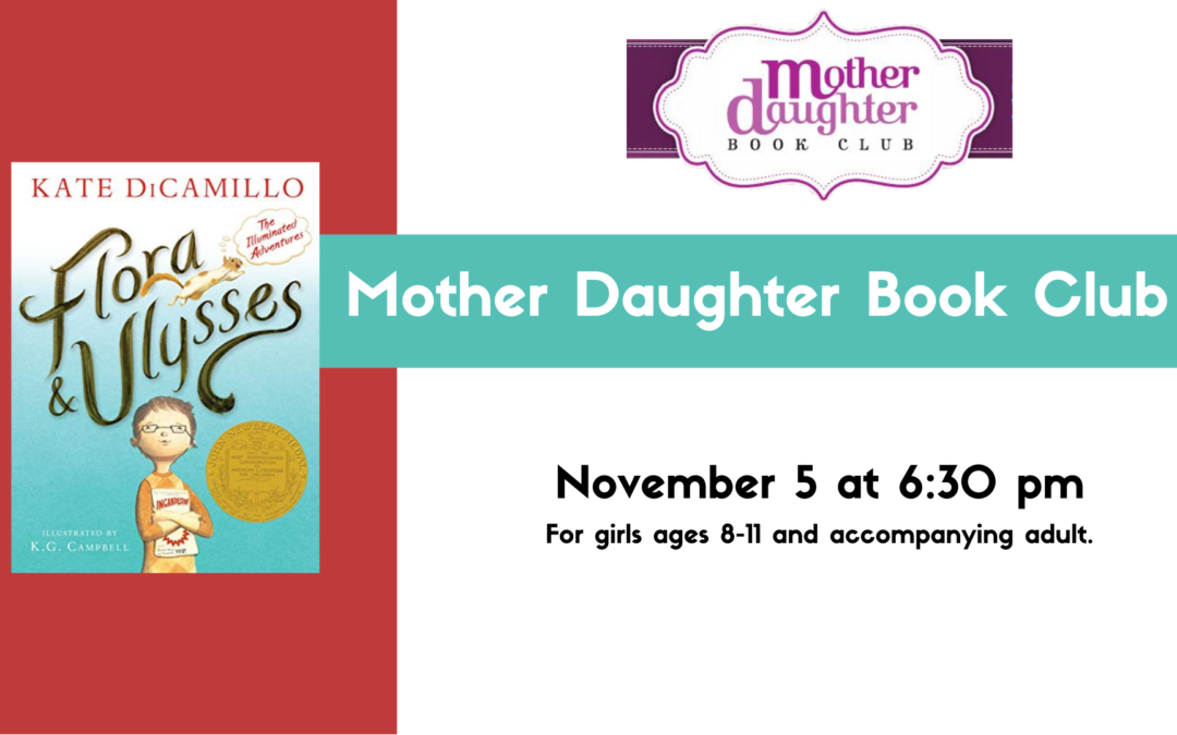 November Mother Daughter Book Club