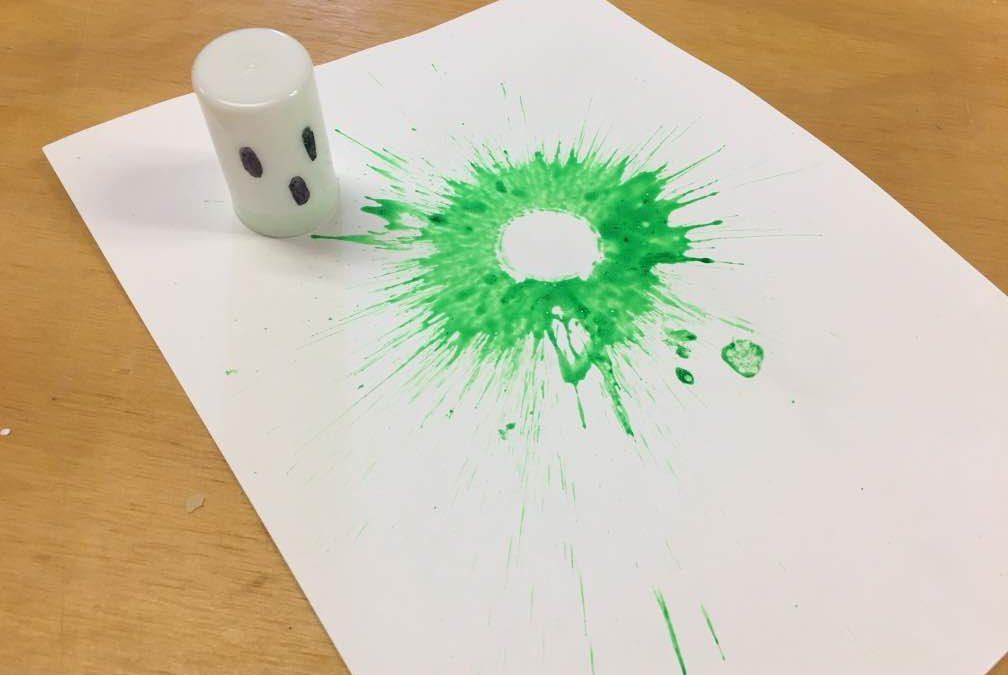 Teen Ghost Paint Rockets