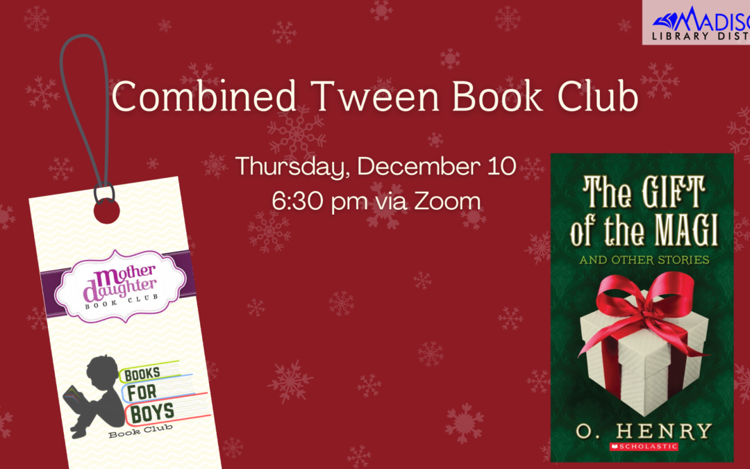 December Combined Tween Book Club