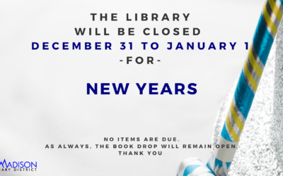 Closed for New Years