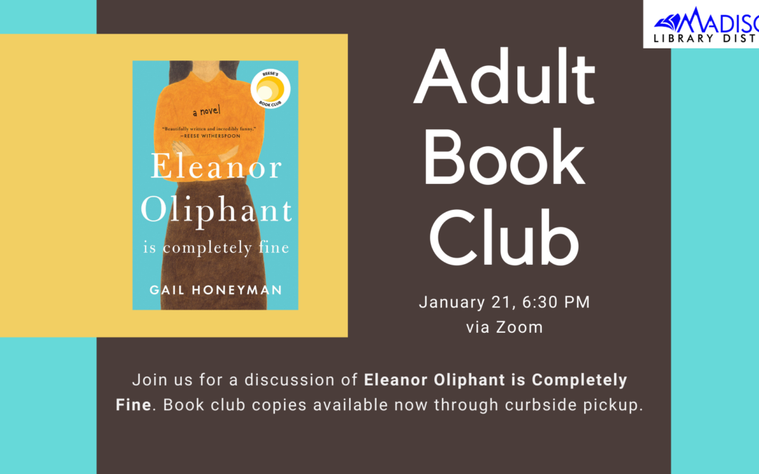 January Adult Book Club