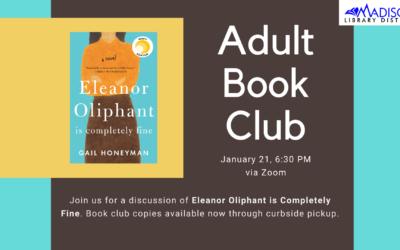 January Adult Book Club