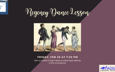 On the Same Page: Regency Dance Lesson