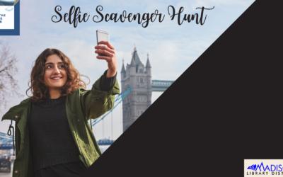 On the Same Page: Selfie Scavenger Hunt