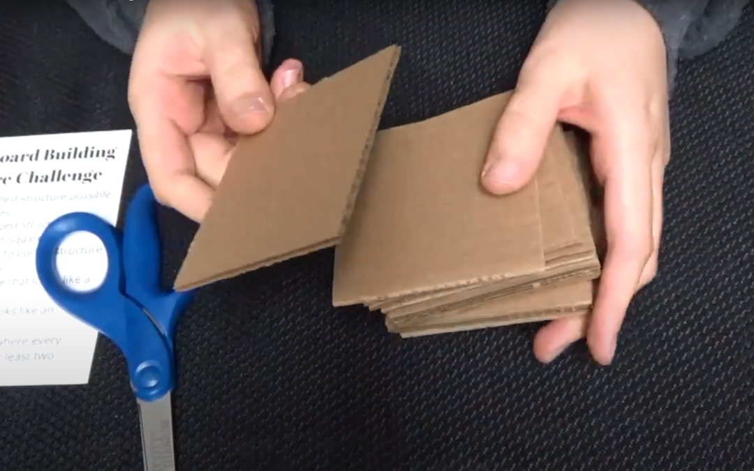 Kid and Tween STEAM: Cardboard Constructions