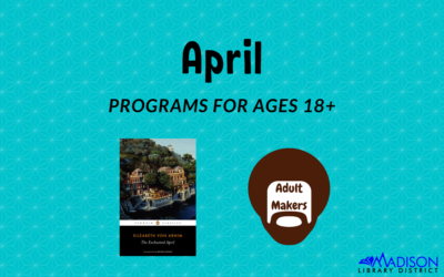 April Adult Activities