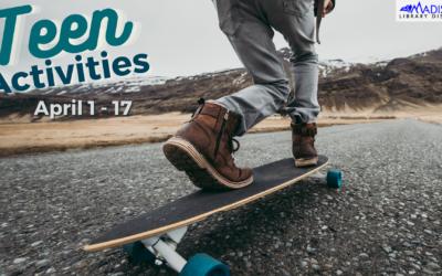 Teen Activities for April 1-17