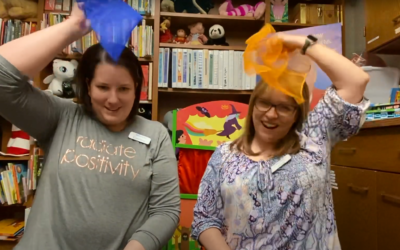 Book Babies: Fun with Scarves and New Board Books!